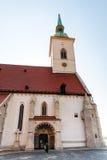 Tor von St. Martin Cathedral in Bratislava Lizenzfreie Stockfotografie