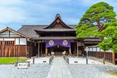 Tor von Takayama Jinya, ehemaliger Regierungs-Vorposten Stockbild