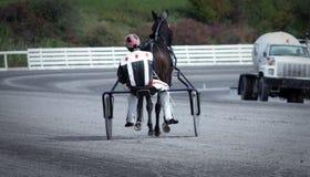 tor wyścigów konnych Fotografia Royalty Free