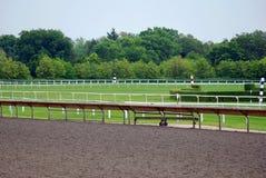 tor wyścigów konnych Obraz Stock