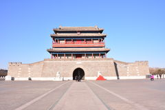 Tor Yongding Peking Stockbild