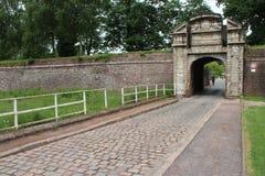 Tor - Zitadelle - Lille - Frankreich (2) Stockfotografie