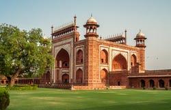 Tor zu Taj Mahal Lizenzfreie Stockfotos