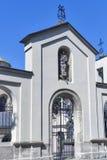 Tor zur armenischen Kathedrale von Lemberg Stockfotografie
