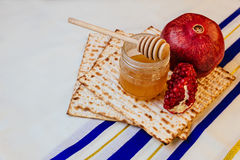 torah хлеба еврейской пасхи matzoh праздника hashanah rosh еврейское Стоковое Изображение RF