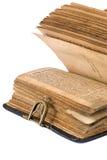 Torah. Ancient torah over white background stock image