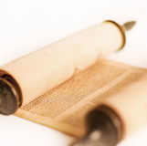 Torah, detail Royalty Free Stock Photos