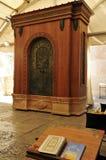 Torah enrolla la cabina. fotografía de archivo