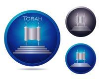 Torah icon set Stock Photo