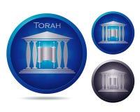Torah icon set Royalty Free Stock Photo