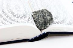 Torah and jewish stone Royalty Free Stock Photos