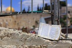 Torah. Judaic old Torah, Jerusalem, Israel Stock Photography
