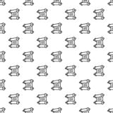 Torah papyrus pattern seamless vector royalty free illustration