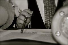 Torah Reading Stock Photo