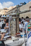 Torah rolka w wspaniałej skrzynce Obraz Stock