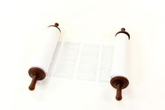 Torah scroll Royalty Free Stock Photography