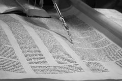 Torah scroll Royalty Free Stock Images