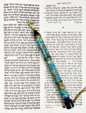 Torah, Tikkun Book, And Pointer, Or Yad Royalty Free Stock Image