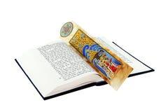 Torah y bookmarker Imágenes de archivo libres de regalías