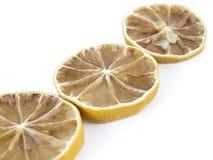Torahs della parte di un limone Fotografia Stock Libera da Diritti