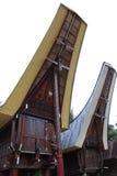 Toraja种族议院 库存照片