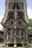 toraja дома стоковое изображение