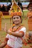 Toraja Dancer. A Toraja dancer at Lovely December Parade, Tana Toraja, South Sulawesi, Indonesia Stock Image