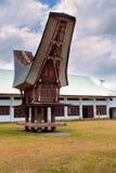 Toraja ethnic architecture, Bitung City Stock Images