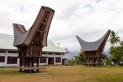 Toraja ethnic architecture, Bitung City Royalty Free Stock Photos