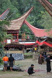 Toraja Funeral Ceremony Stock Photography