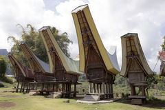 Toraja home Stock Photography