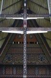 Toraja house façade Royalty Free Stock Photo
