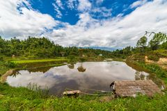 Toraja landscape Royalty Free Stock Photo