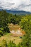 Toraja-Landschaft Stockfoto
