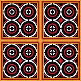 Toraja Pattern Ne` Limbongang Stock Photo