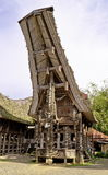 Toraja rural household Stock Images