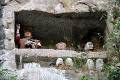 Toraja tana ομοιώματος Στοκ φωτογραφίες με δικαίωμα ελεύθερης χρήσης