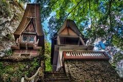 Toraja Traditional funeral tomb Stock Photo