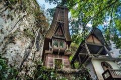 Toraja Traditional funeral tomb Stock Image