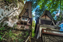 Toraja Traditional funeral tomb Royalty Free Stock Photography