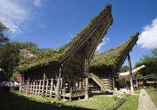 Toraja village Royalty Free Stock Photography