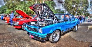 Torana blu SLR 500 fotografia stock