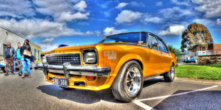 Torana dipinto oro SLR 500 Fotografie Stock Libere da Diritti