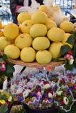 Toranja e flores Fotos de Stock
