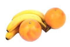Toranjas e bananas Fotografia de Stock