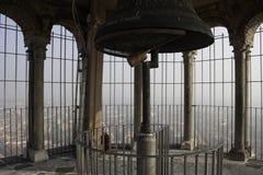 Torazzo Kontrollturm in Cremona Stockfoto