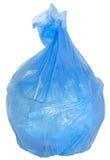 torba śmieci błękitny rozporządzalny Obrazy Stock