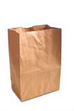 torba brązowy papier Zdjęcia Royalty Free