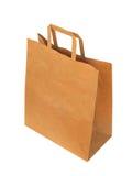 torba brązowy papier Obraz Stock