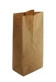 torba brązowy papier Fotografia Royalty Free